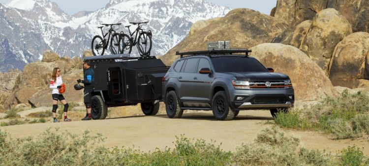 Volkswagen Atlas Basecamp Concept P