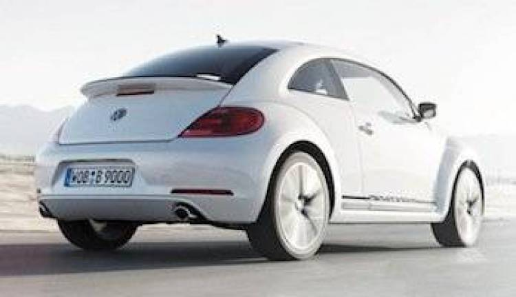 Volkswagen Beetle Turbo Black & White