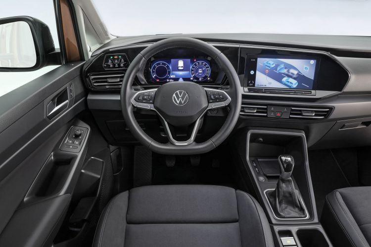 Volkswagen Caddy 2021 Prueba 10 Interior