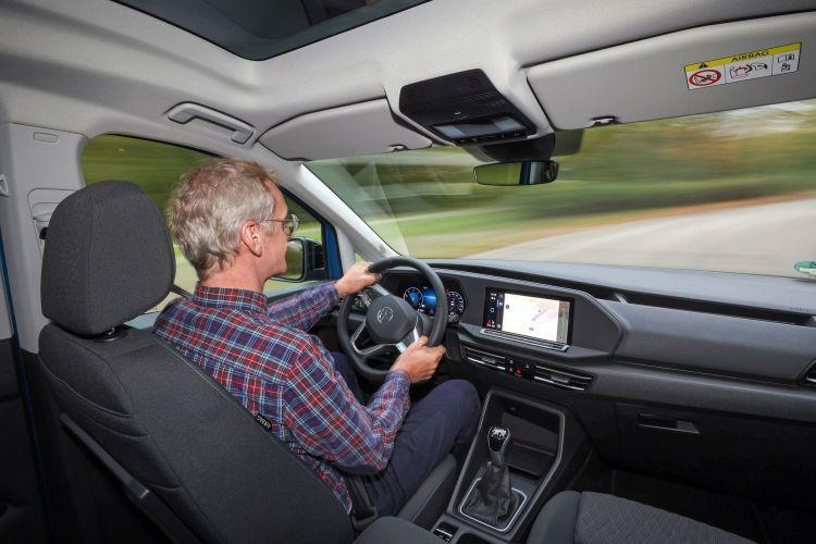 Volkswagen Caddy 2021 Prueba 2 Interior
