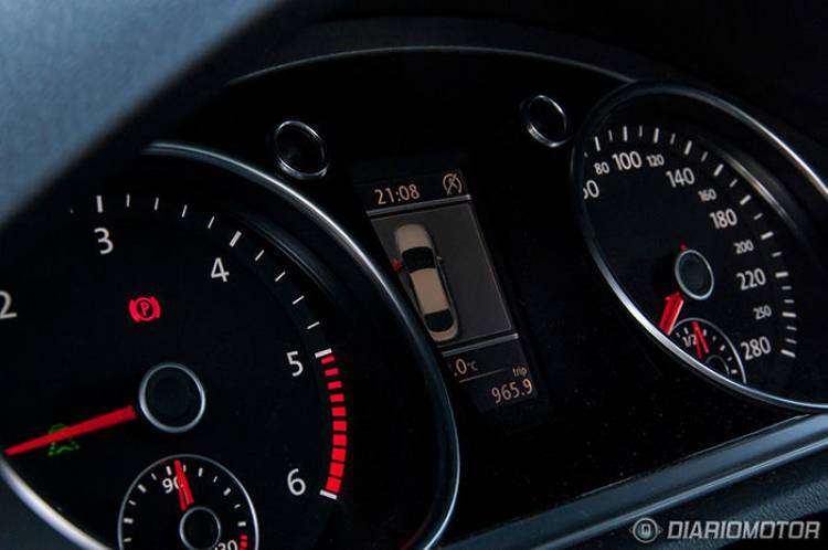 Prueba del Volkswagen CC