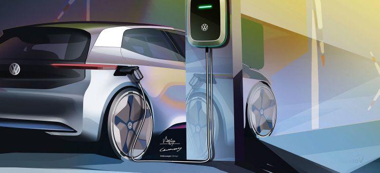 Volkswagen Coche Electrico 2019 Cargador