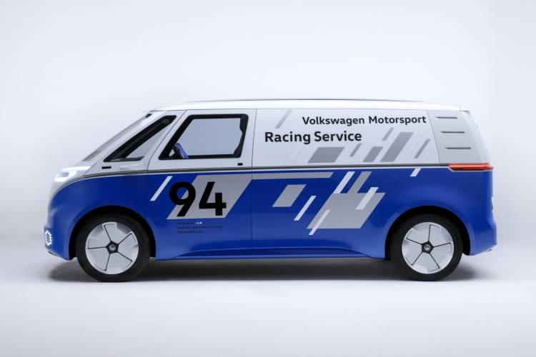 Volkswagen Coche Electrico I D Buzz Cargo 9100