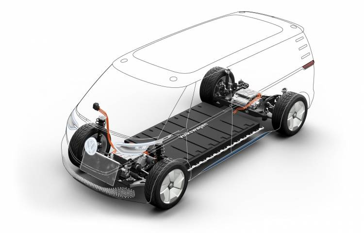 Volkswagen Coche Electrico I D Buzz Cargo 9106
