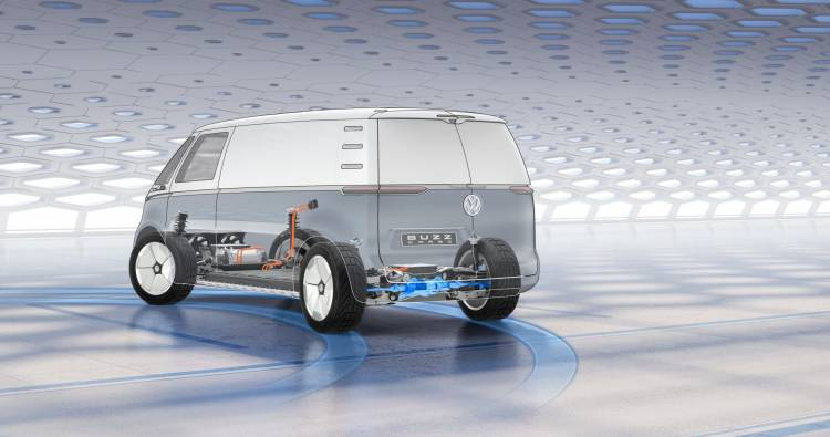 Volkswagen Coche Electrico I D Buzz Cargo 9107
