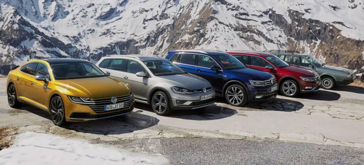 Volkswagen Diesel Arteon Golf Tiguan Passat