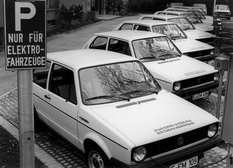 Volkswagen Elektro Golf 1976 05