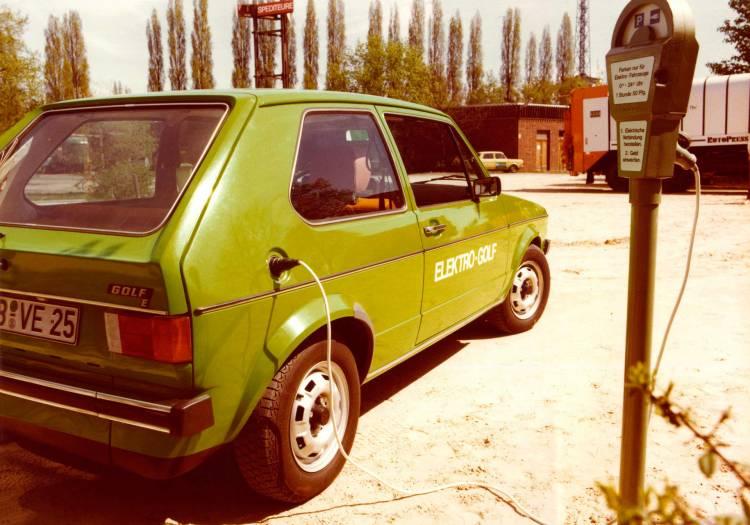 Volkswagen Elektro Golf 1976 06