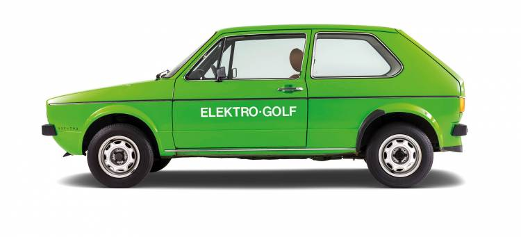 Volkswagen Elektro Golf 1976 07