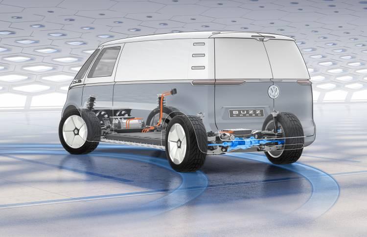 Volkswagen Furgoneta Electrica Ford 03