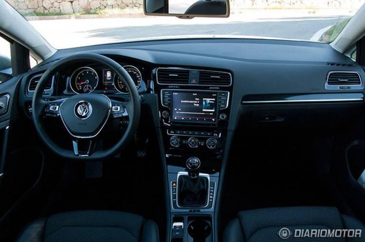 Prueba del Volkswagen Golf VII 2013