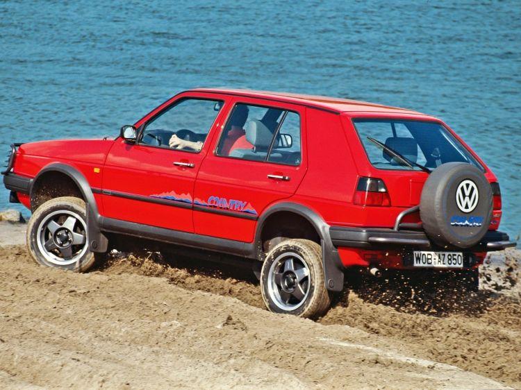 Volkswagen Golf Country Historia 13