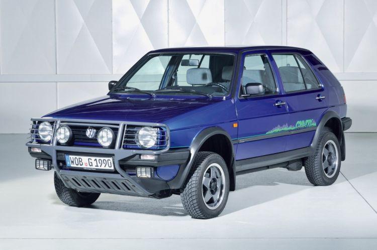 Volkswagen Golf Country Historia 7