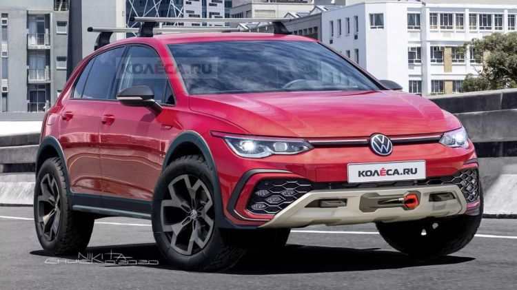 Volkswagen Golf Country Todoterreno 1