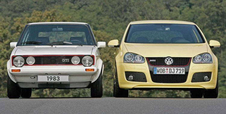 Volkswagen Golf Gti 1983 2004 Frontal