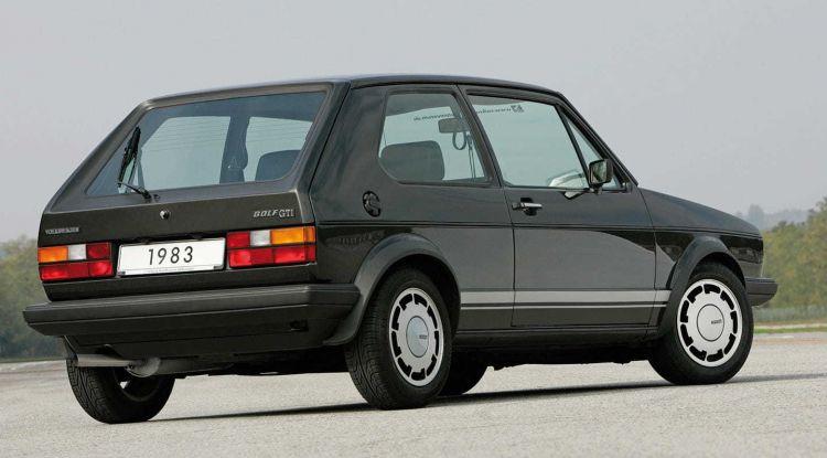 Volkswagen Golf Gti Negro 1983