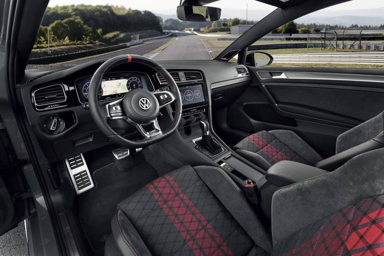 Volkswagen Golf Gti Tcr 2019 Interior 0119 01