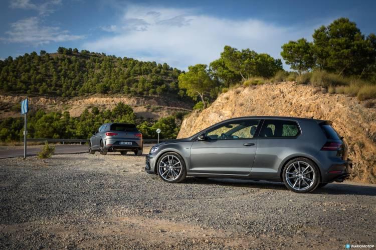 Volkswagen Golf R Seat Leon Cupra R 25