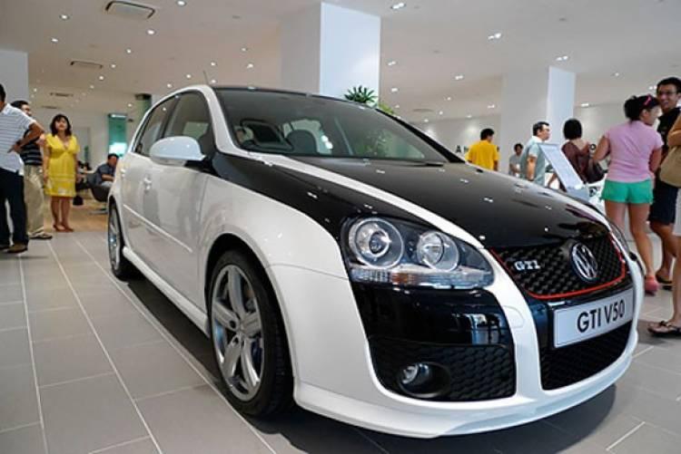 Volkswagen Golf V GTi V50