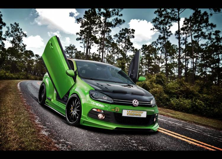 Volkswagen Golf VI GTI de WEITEC