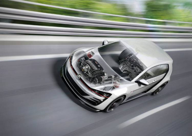 Volkswagen Design Vision GTI: ¿tanteando el regreso del VR6 desde Los Angeles?
