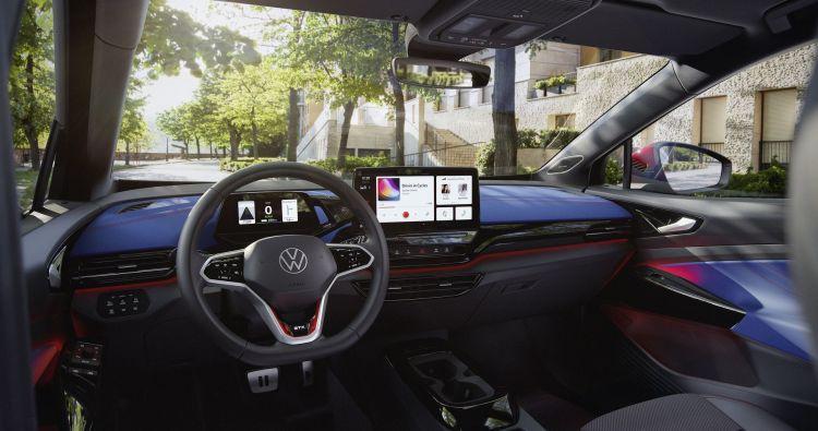 Volkswagen Id 4 Gtx 2021 5 Interior