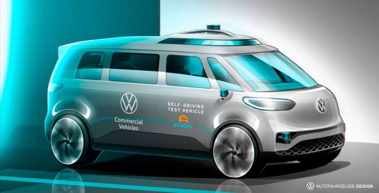 Volkswagen Id Buzz Autonomous