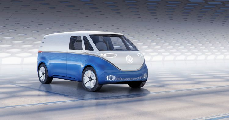 Volkswagen Id Buzz Cargo Blue
