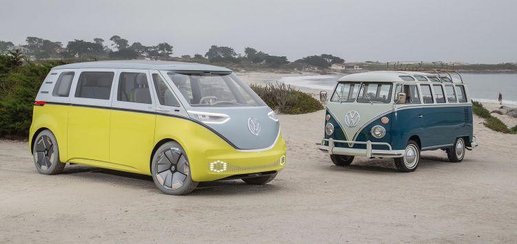 Volkswagen Id Buzz Concept Amarillo 07