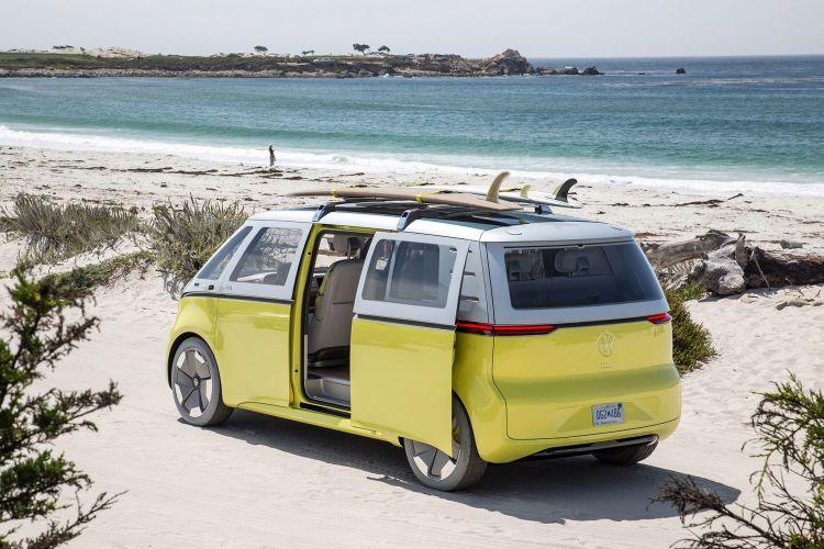 Volkswagen Id Buzz Concept Yellow 31