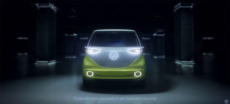 Volkswagen Id Buzz Concept Video Pasar Pagina Diesel