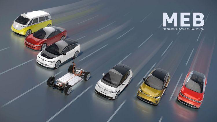 Volkswagen Id Range Prototypes 2021