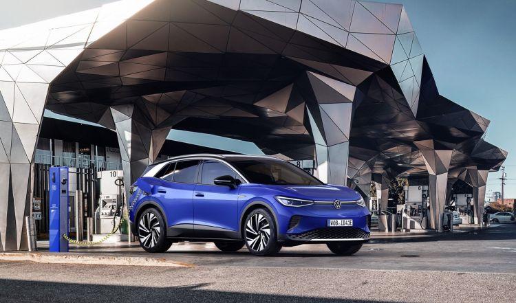Volkswagen Id4 2021 Coche Electrico