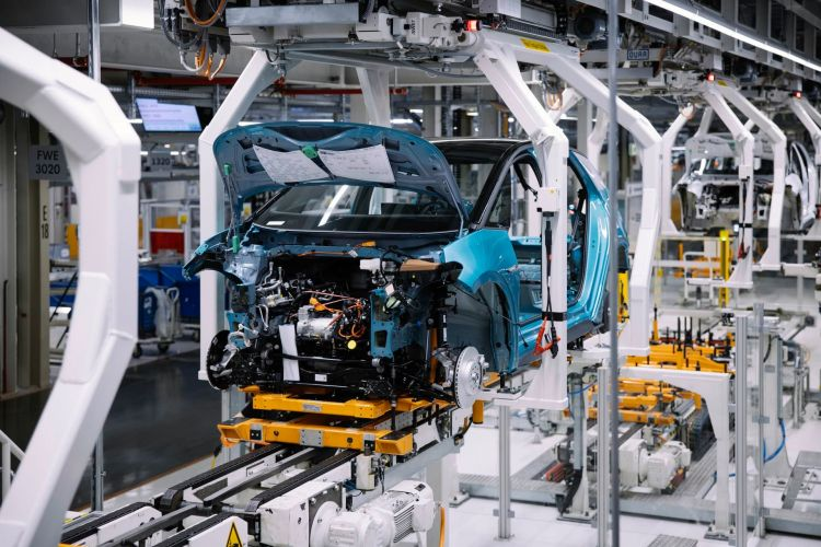 Id 3 Produktion Bei Vw