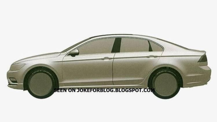 Se filtran el diseño de un nuevo coupé de cuatro puertas de Volkswagen