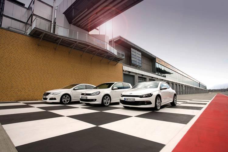 Volkswagen Passat CC, Golf, Scirocco R-Line