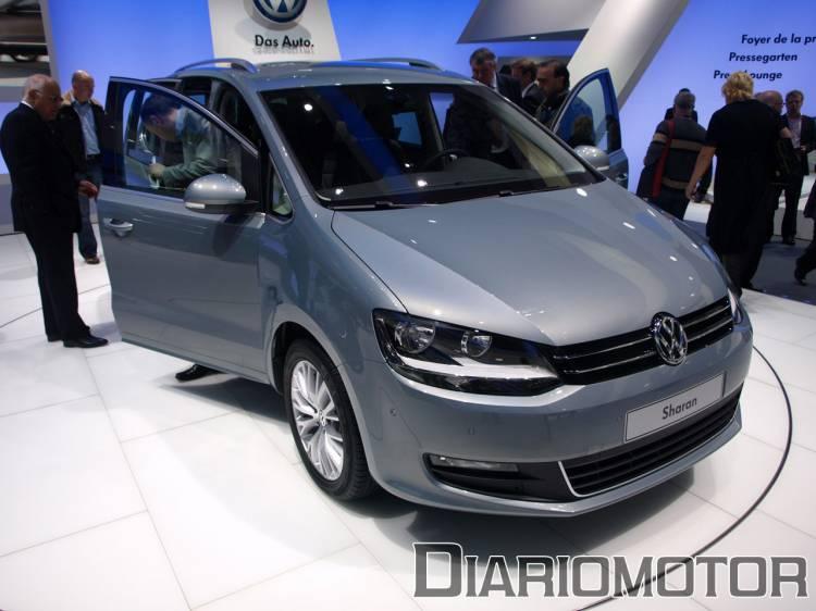 Volkswagen Sharan en Ginebra