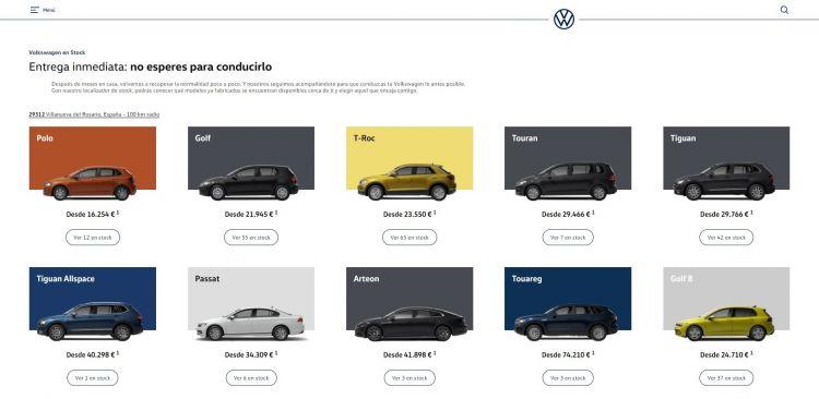 Volkswagen Stock Oferta Noviembre 2020
