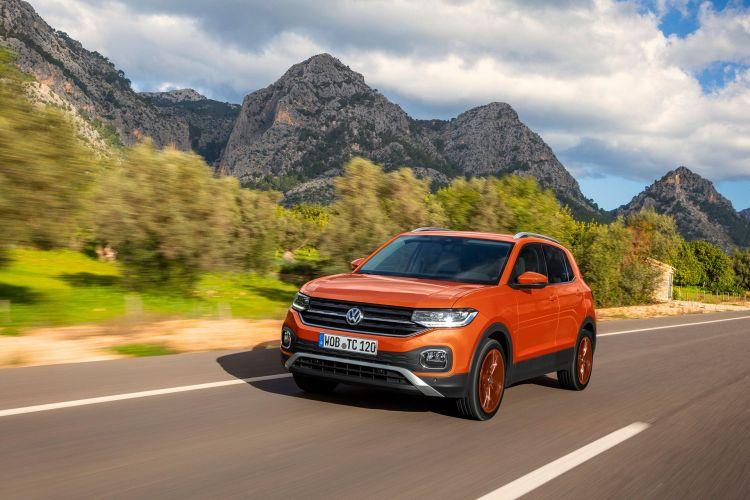 Volkswagen T Cross 2019 Naranja Prueba Exterior 05