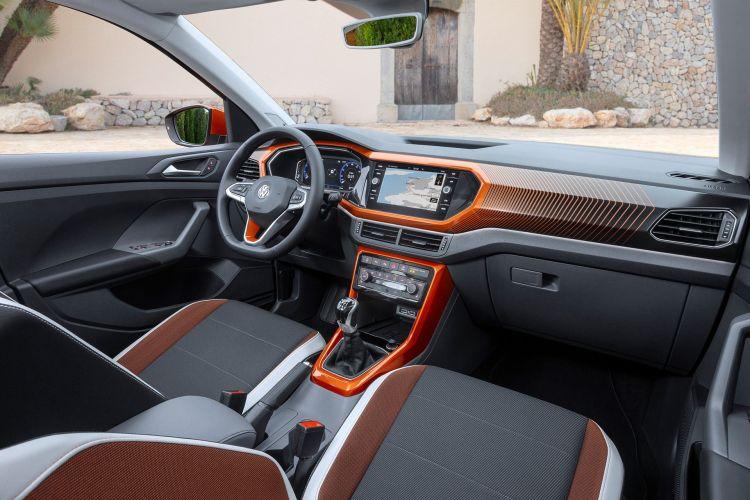Volkswagen T Cross 2019 Naranja Prueba Exterior 22