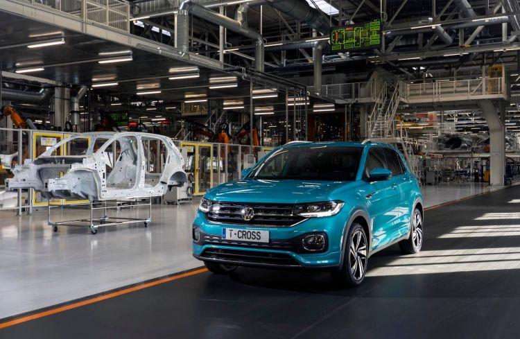 Volkswagen T Cross Fabrica Navarra España