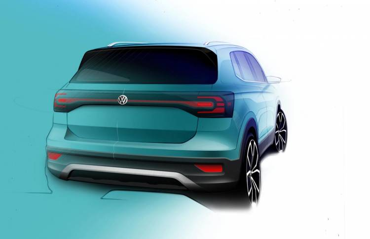 Volkswagen T Cross Sketch 2