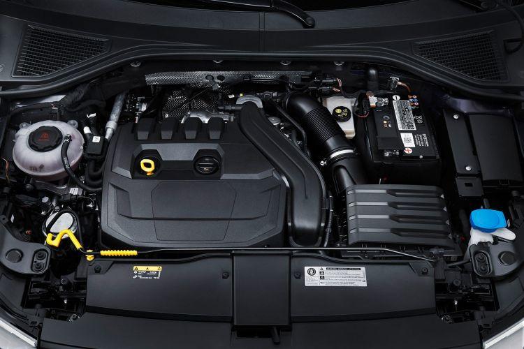 Volkswagen T Roc Cabrio 2020 Azul 21 Motor