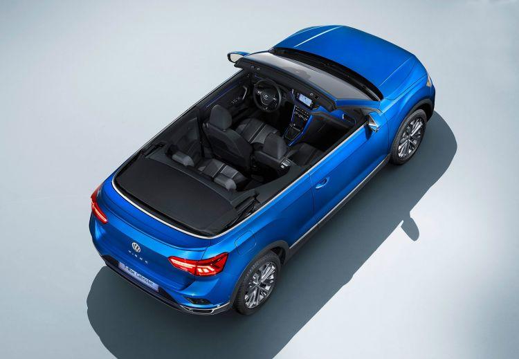 Volkswagen T Roc Cabrio 2020 Azul 29
