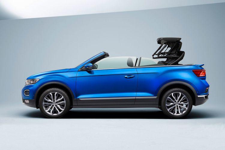 Volkswagen T Roc Cabrio 2020 Azul Capota 01