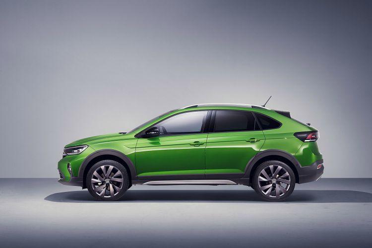 Volkswagen Taigo 2022 Lateral Verde Visual Green 03