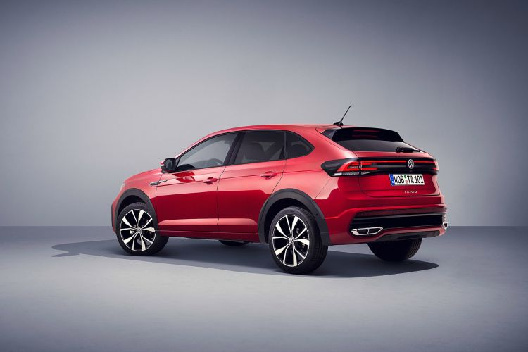 Volkswagen Taigo 2022 Trasera Rojo Kings Red Exterior 05