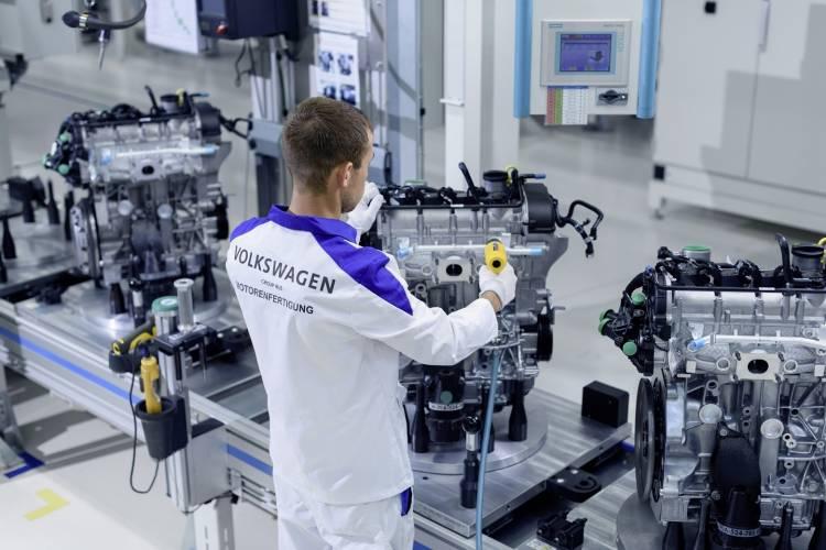 Volkswagen Motorenfertigung am Standort Kaluga