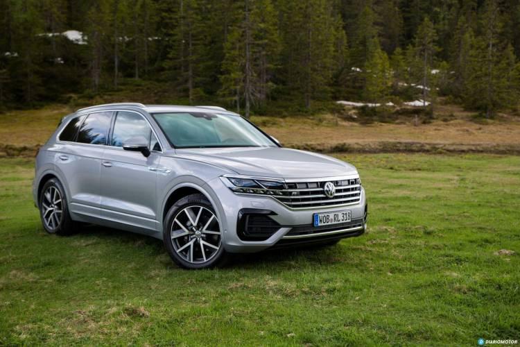 Volkswagen Touareg 2018 Prueba 1