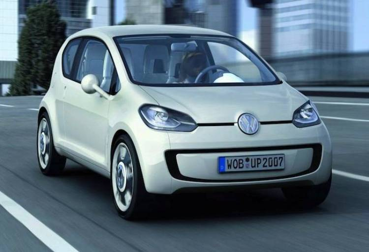 Volkswagen up! Concept 2007-2012